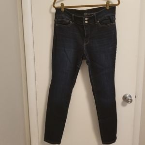 New York and company high waisted skinny jeans
